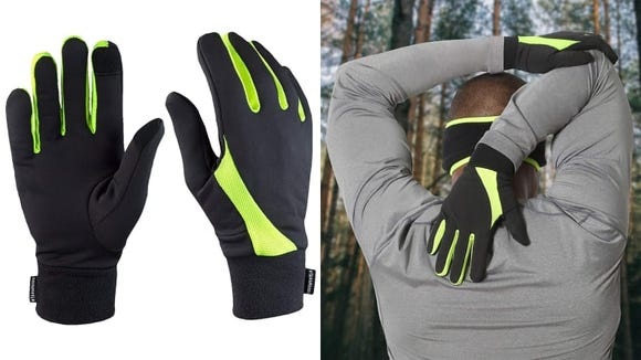 Keep up your running all winter long with these gloves.
