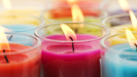 The 10 most returned holiday gifts: Candles.