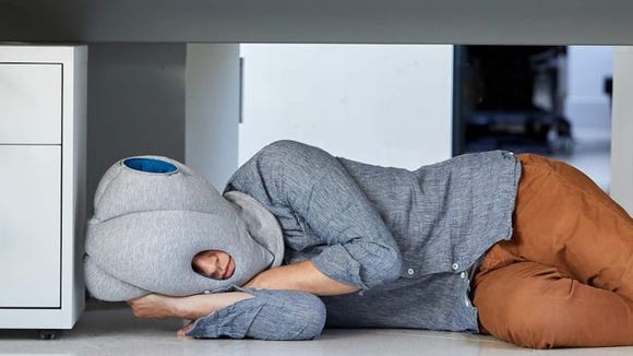 Who among us hasn't been tempted to nap at work?