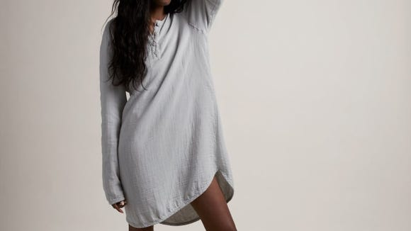 This cozy sleep shirt will be their new favorite garment.