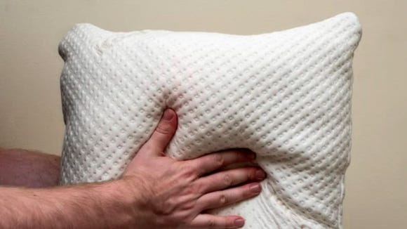 These memory foam pillows are adjustable—cool, right?