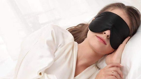 Block out any disruptive light with this sleep mask.