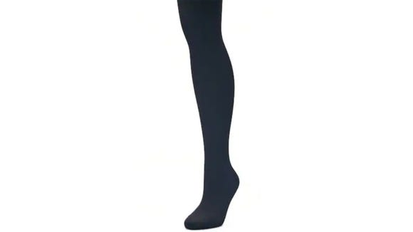 For cool evenings and long workdays, these tights will serve you well.