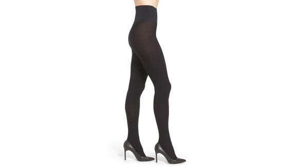 These Commando tights keep legs covered and cozy.