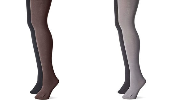 These tights can come in a multicolored two-pack.