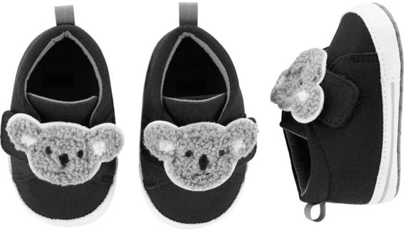 Does it get cuter than koalas on baby shoes?