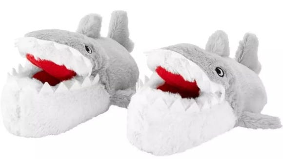 These incredible shark shoes will provide lots of entertainment.
