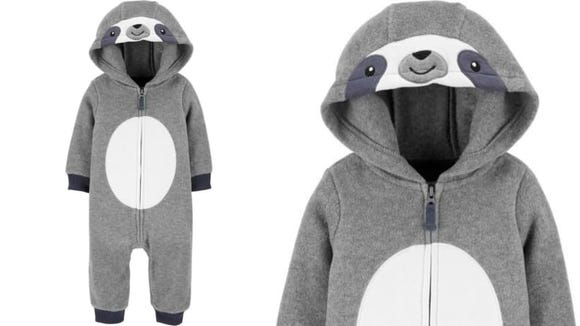 """If I had children, they'd all dress in these and I'd call them the """"von Sloths."""""""
