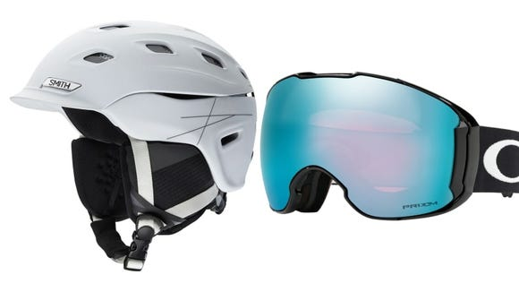 Protect your noggin with a helmet and goggles.