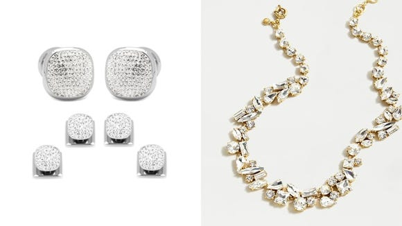 Give off a glimmer with these pieces of jewelry.