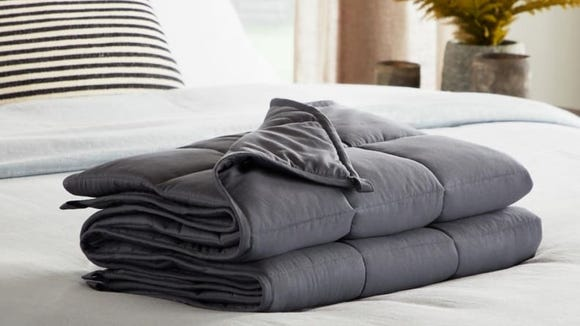 Weighted blanket? We'll take four.