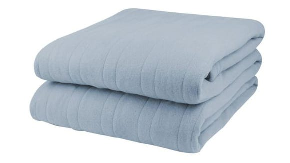 Heated blankets are ideal for the winter months.