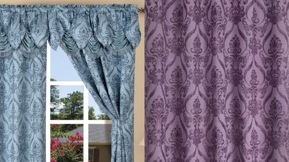 Upgrade your curtain game with this set.