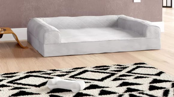 Good luck resisting the urge to lie on this bed yourself.