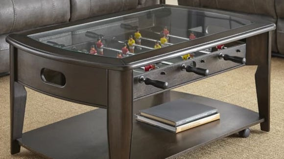 Forget the coffee table book—get a foosball table.