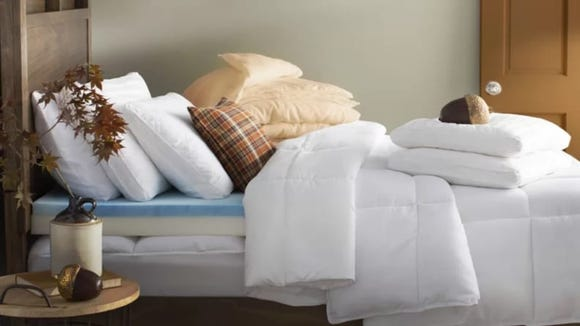 Can you ever turn down a fresh new pillow?