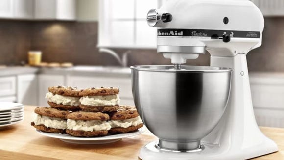 Don't be surprised when you start treating your stand mixer like an actual child.