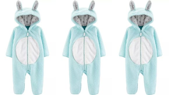 Does your baby love the Easter bunny? Why not dress like him?