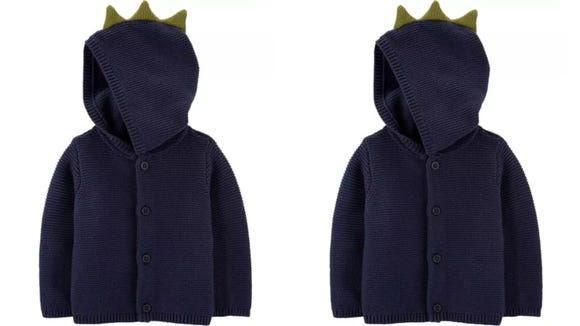 What's cooler—the hoodie, or the spikes on the hood?