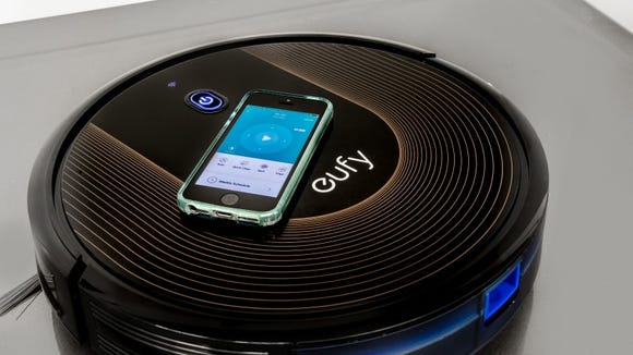 During our cleaning tests, the Eufy BoostIQ RoboVac 30C picked up, on average, over 10 grams of dirt.