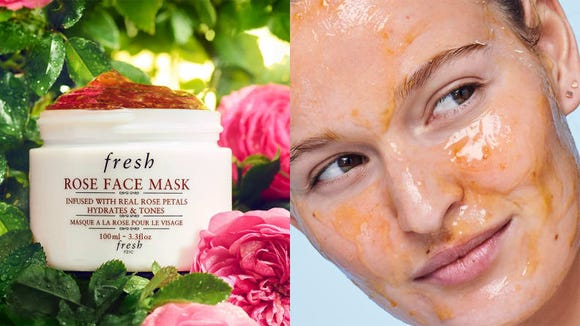 Treat your skin with the Fresh Rose Face Mask.