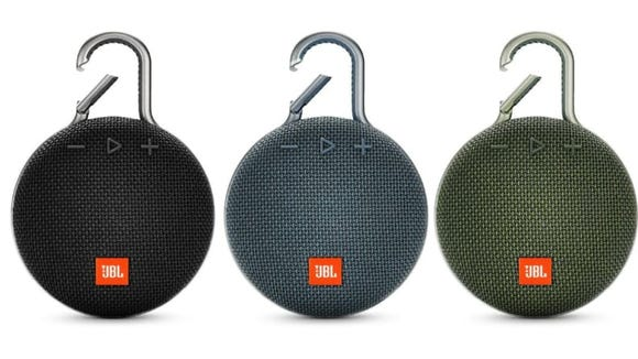 This portable speaker can help you jam while hiking.