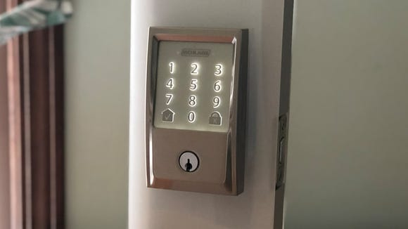 The Schlage Encode is a solid, easy-to-use smart lock.