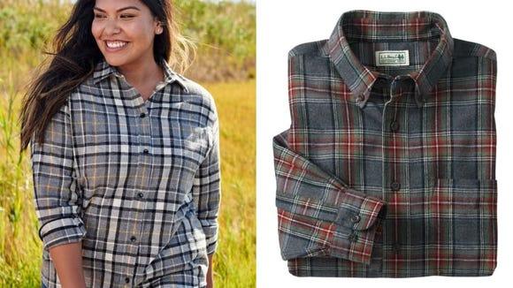 Who can resist the lure of a good flannel top?