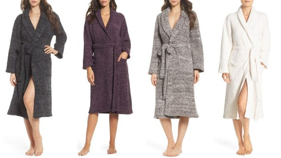 This soft robe is perfect for women of every age.