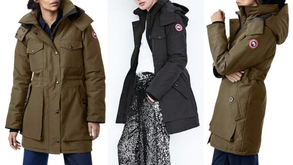 This parka is perfect for those who live in New England.