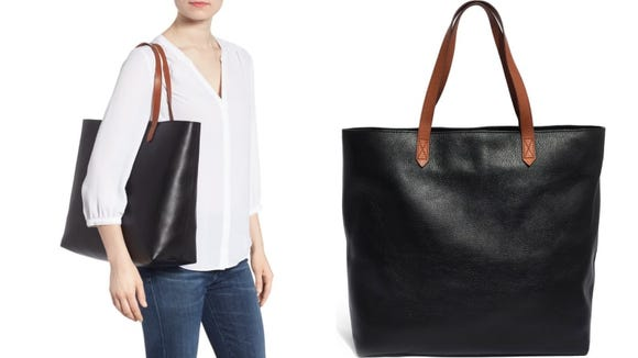 Our staff love this zip top transport tote.