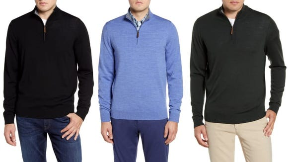 This highly rated sweater comes in eight colors.