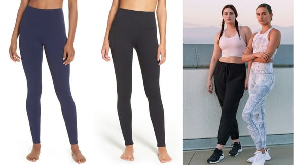 Wear these leggings to the gym, the store, or the couch.