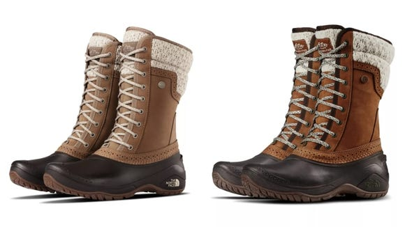 Survive the winter in stylish snow boots.