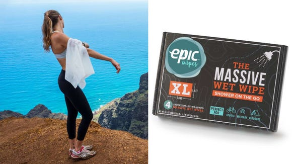 Best products for lazy people: Epic Wipes.
