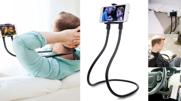 Best products for lazy people: B-Land Cell Phone Holder.