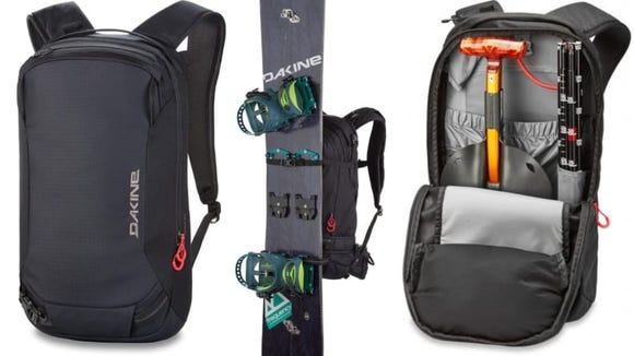 This slim backpack is surprisingly spacious inside.