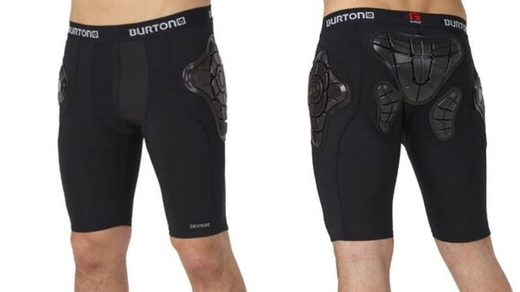 Your tailbone will thank you for wearing these impact-absorbing shorts.
