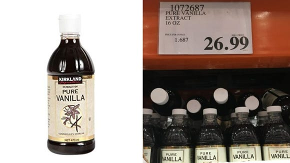 This bottle of vanilla will last bakers forever.