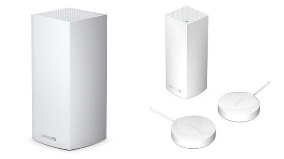 Linksys Wellness Pods use WiFi to track motion and respiratory changes.