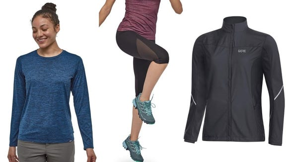 Lightweight, breathable running clothes double as travel essentials at a destination race.
