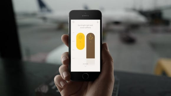 The Timeshifter app helps to make jetlag less of a disruption.