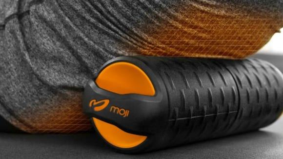 Heat plus foam rolling is a winning combo with the Moji roller.