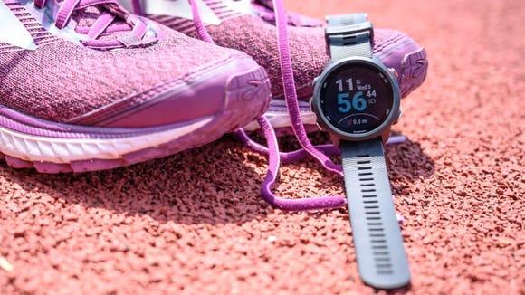 Our favorite GPS watch, the Garmin Forerunner 245, is a runner's best friend.