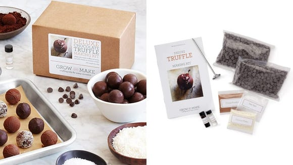 Why buy chocolates when you can make your own with this kit from Uncommon Goods?