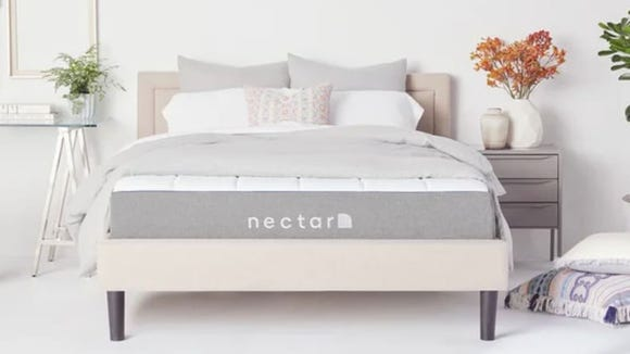 Nectar mattresses are the perfect balance between firm and plush.
