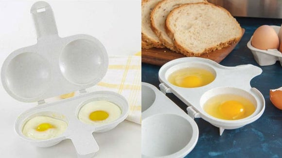 Cooking eggs doesn't get much simpler than this.