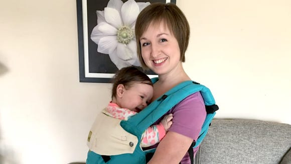 The Lillebaby Complete makes baby wearing easy and comfortable.