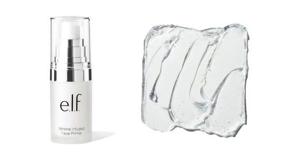 Smooth out your skin with the E.L.F. Cosmetics Mineral Infused Primer.