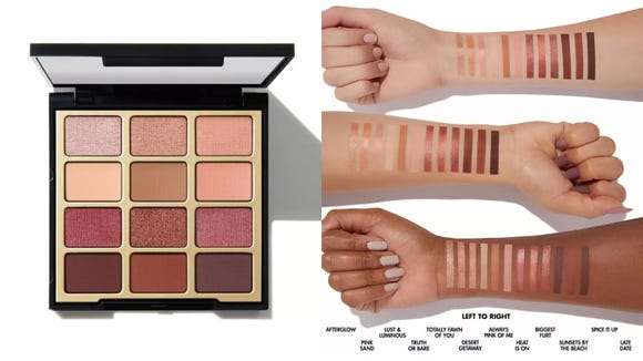 Create your own eye look with the Milani Eyeshadow Palette Pure Passion.